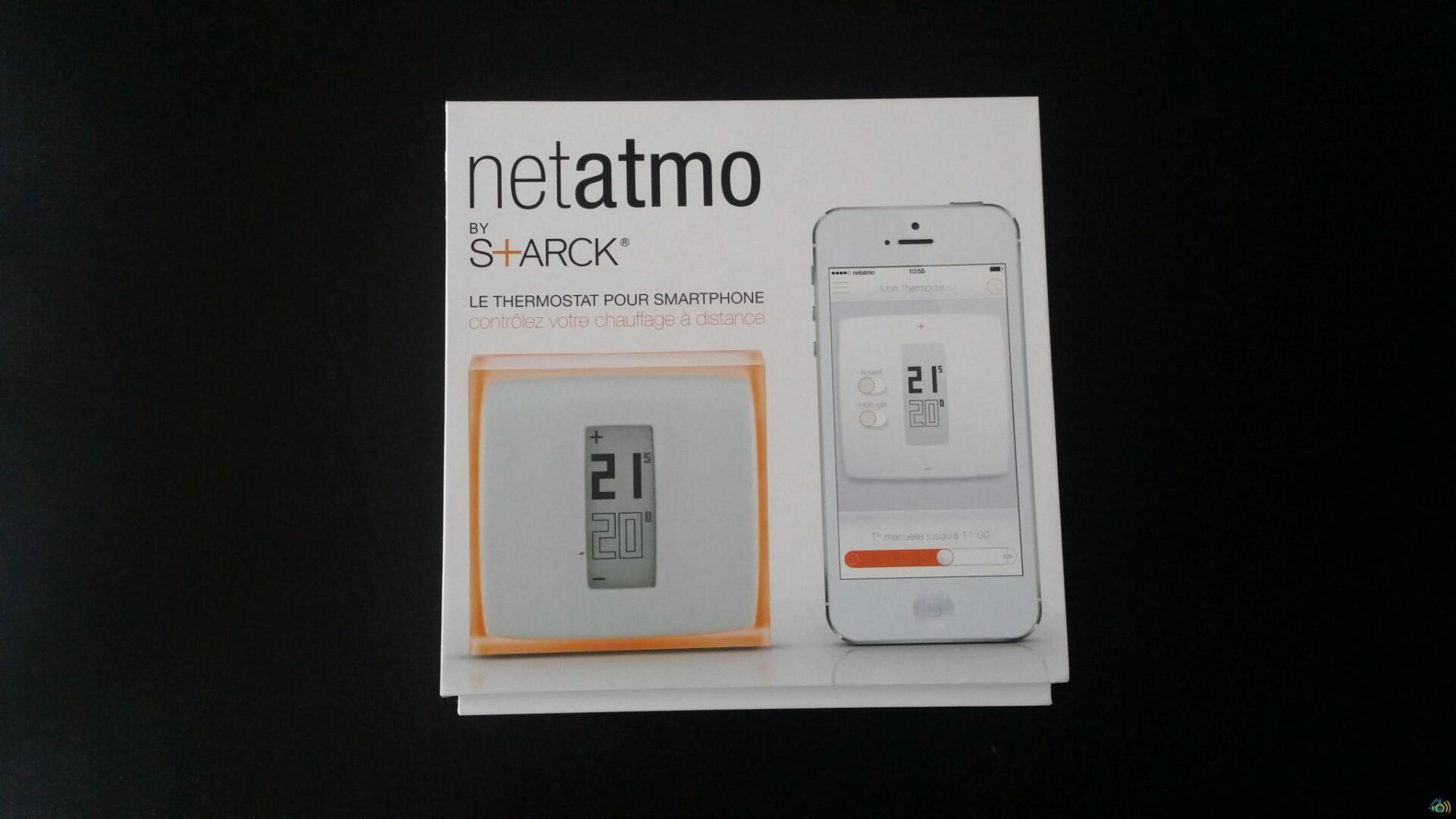 pr sentation et test du thermostat netatmo. Black Bedroom Furniture Sets. Home Design Ideas