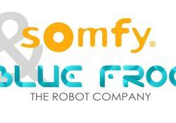 SOMFY et BLUE FROG : avec le robot compagnon Buddy, une nouvelle expérience du pilotage de la maison connectée Somfy