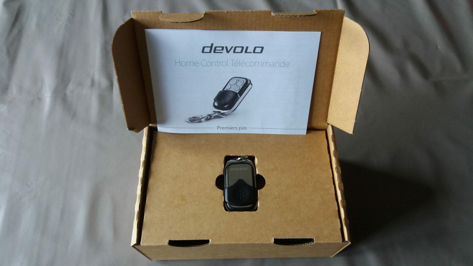 3 Présentation et test de la télécommande Home Control Devolo