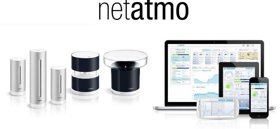 Test de la station météo Netatmo et ses modules aditionnels