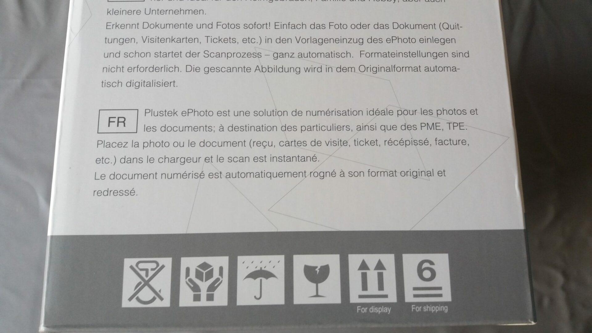 3-1 Scanner Plustek ePhoto Z300 ... un scanner haute qualité