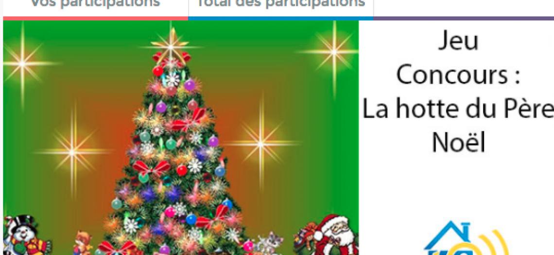 Le jeu concours du Père Noël est terminé !