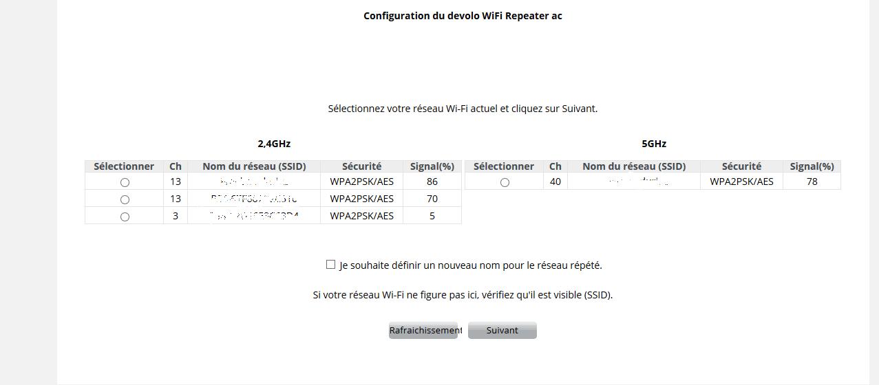WIFI5 Devolo WIFI Repeater ac