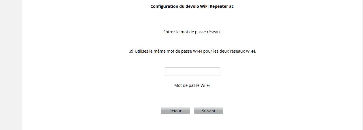 WIFI6 Devolo WIFI Repeater ac