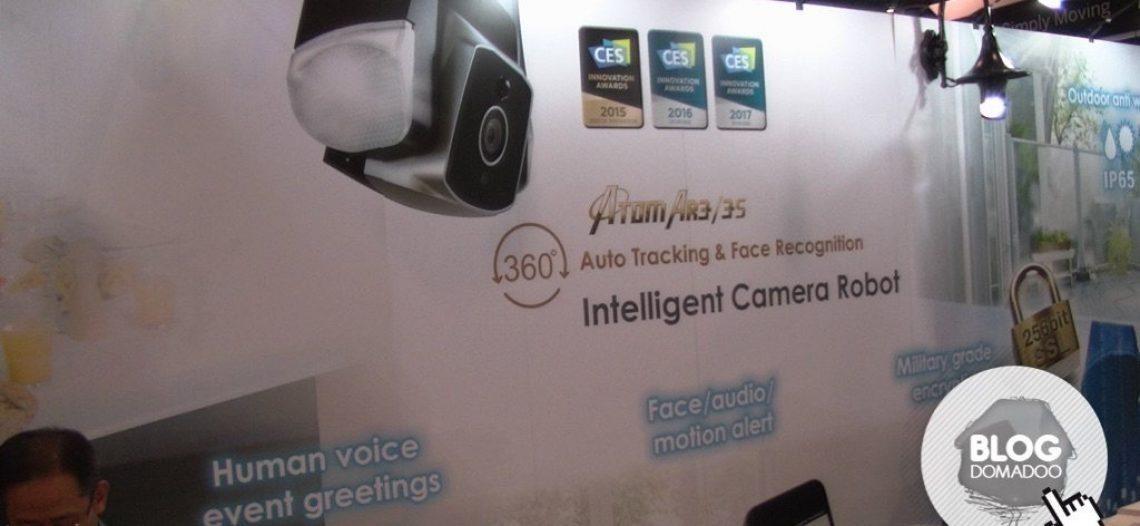 Notre Veille : Amaryllo présente sa caméra Atom AR3 au #CES2017