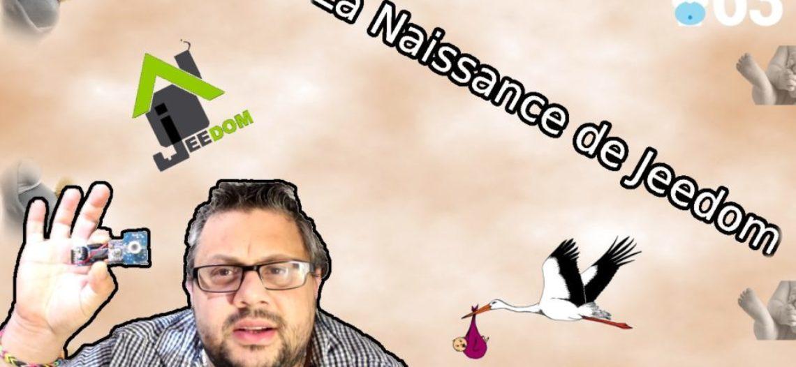 """Notre Veille : [Humour – Histoire] La naissance de Jeedom – La vraie histoire<span class=""""wtr-time-wrap after-title""""><span class=""""wtr-time-number"""">1</span> min de lecture pour cet article.</span>"""
