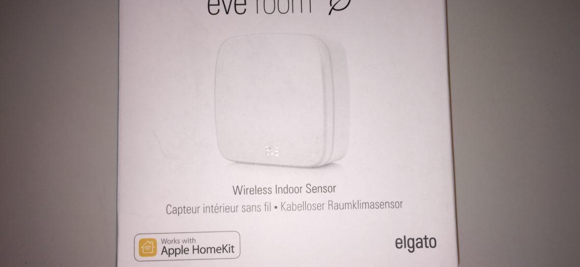 Elgato sort la gamme EVE compatible HomeKit.