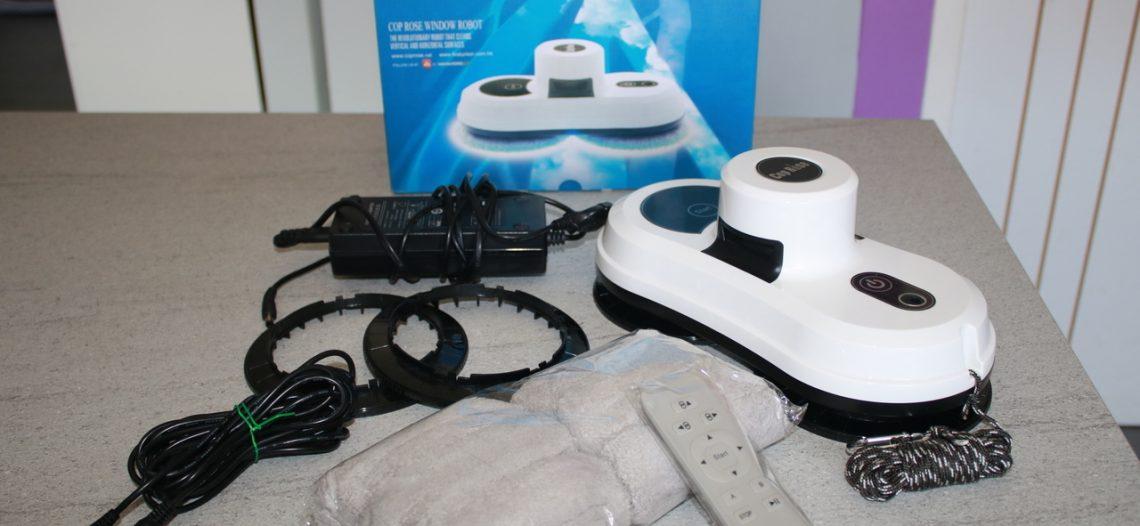 Notre Veille : Cop Rose Le robot laveur de vitres – Déballage Test