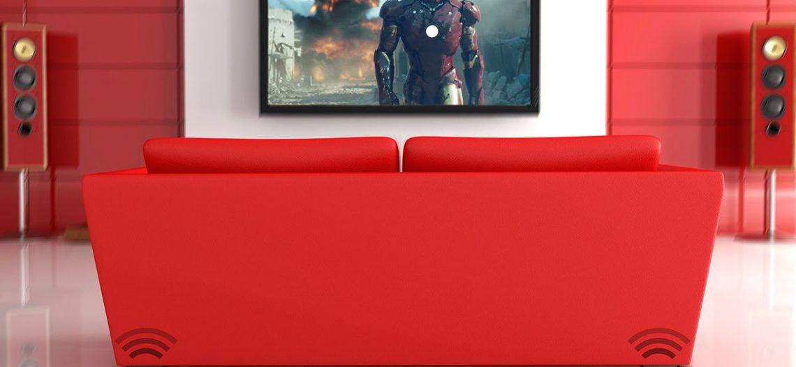 Notre Veille : Test de l'Immersit Vibes: faites vibrer votre canapé au rythme de vos films !