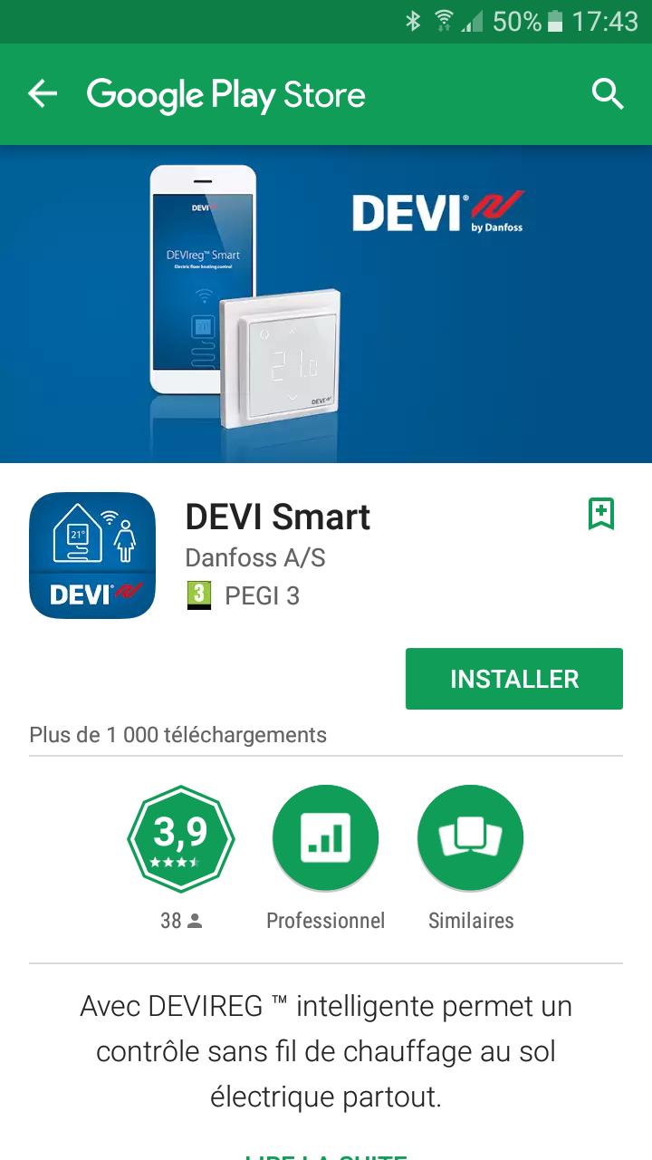 Screenshot_20170316-174307 Le DEVIreg Smart, un thermostat connecté par Deleage / Danfoss