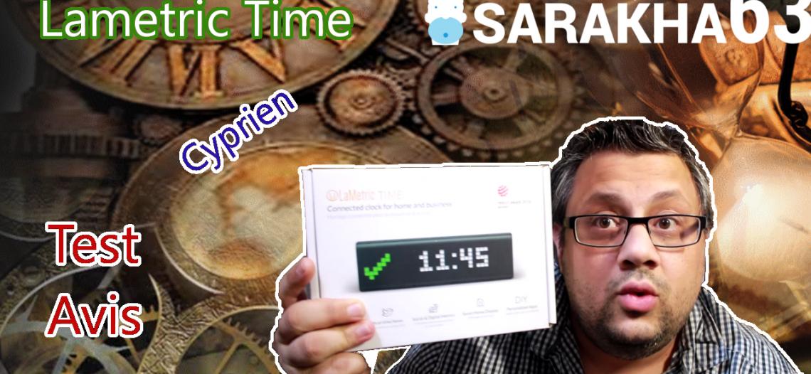 Notre Veille : [Déballage Test Avis] LaMetric Time avec un peu d'humour et Cyprien