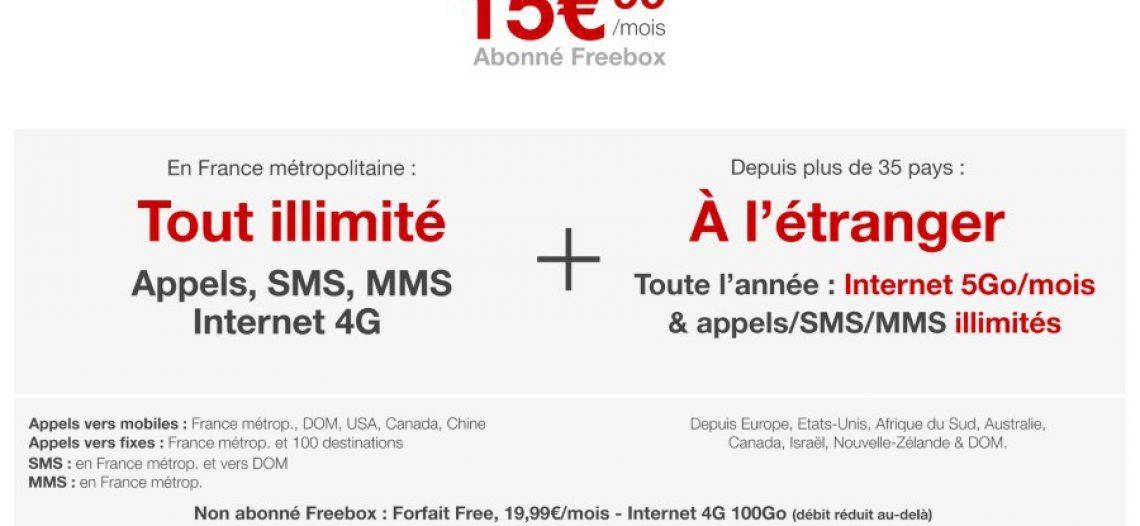 """Notre Veille : la 4G désormais illimitée pour les abonnés Freebox<span class=""""wtr-time-wrap after-title""""><span class=""""wtr-time-number"""">1</span> min de lecture pour cet article.</span>"""