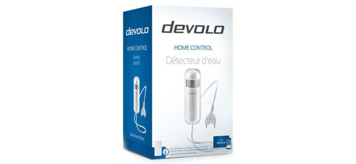 Test du détecteur d'eau de la gamme Home Control de chez Devolo