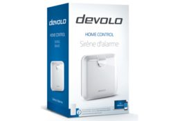Test de la sirène d'alarme de la gamme Home Control de chez Devolo