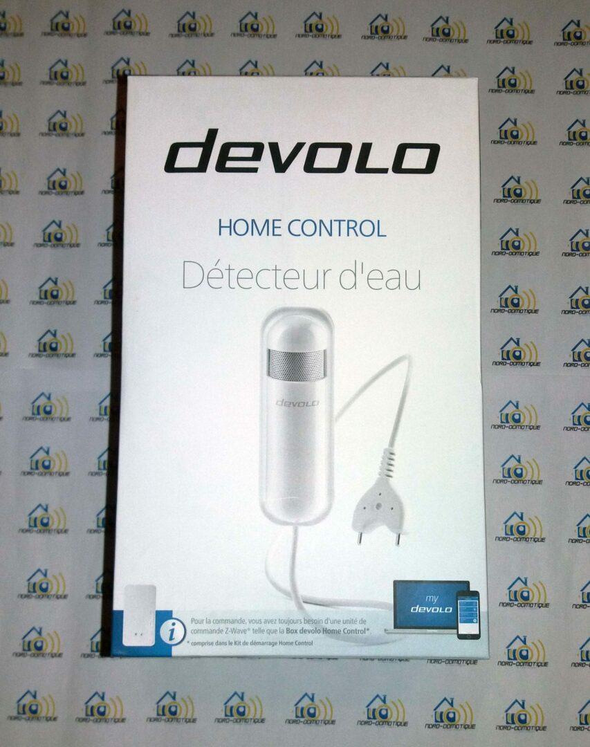 01-1 Test du détecteur d'eau de la gamme Home Control de chez Devolo