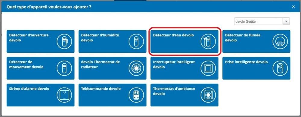 07-1 Test du détecteur d'eau de la gamme Home Control de chez Devolo