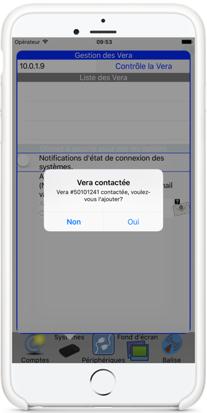 2 Application Vera MiOS Remote sur AppStore