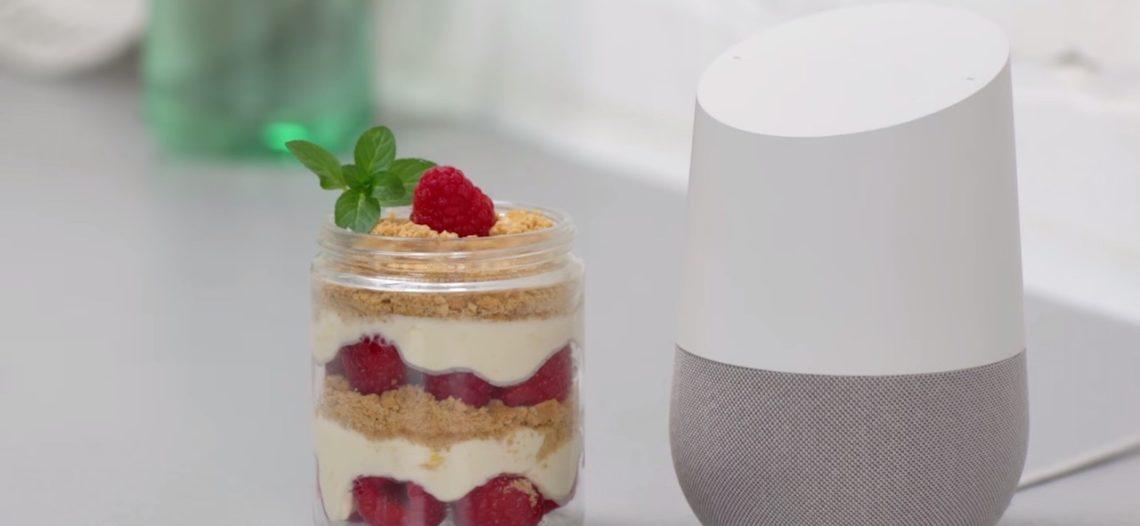 Notre Veille : Google Home va grandement simplifier la cuisine !