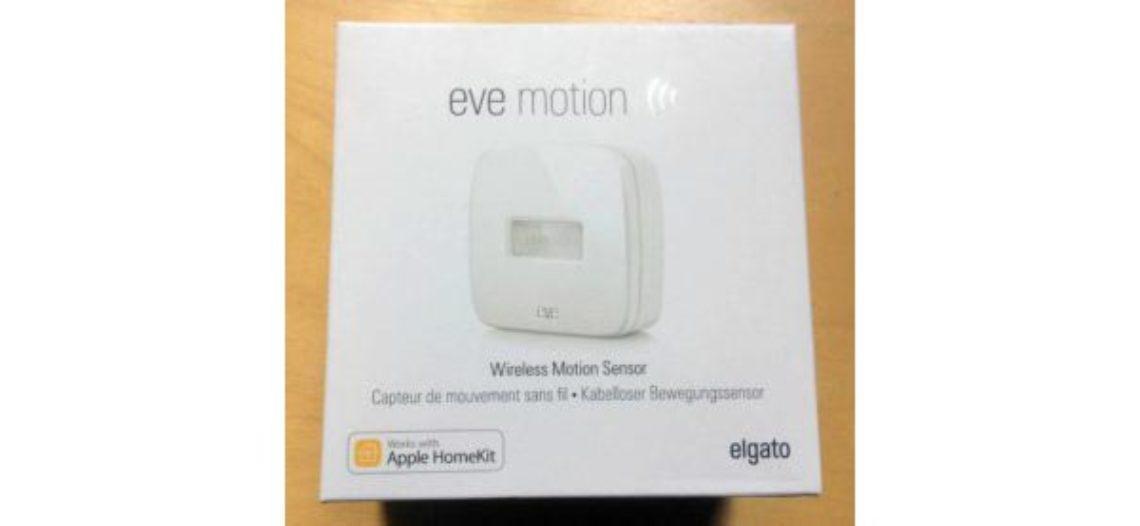 Présentation du capteur de mouvement EVE Motion de Elgato avec HomeKit