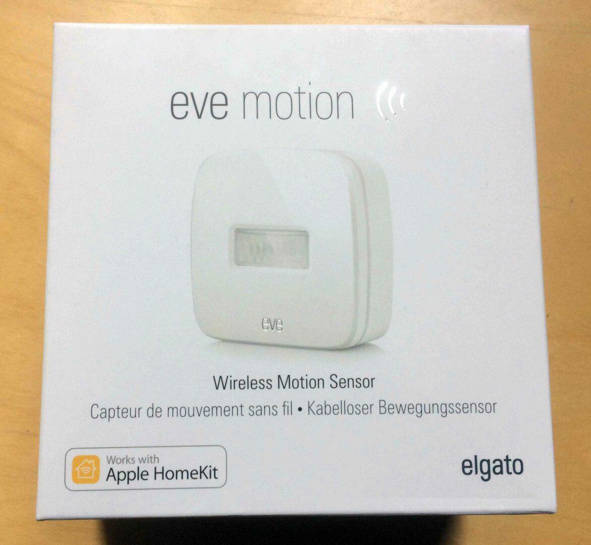 EVE-2 Présentation du capteur de mouvement EVE Motion de Elgato avec HomeKit