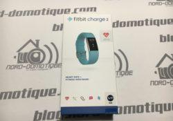 Test du bracelet sportif FitBit charge 2