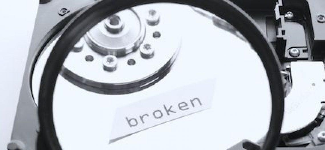 Notre Veille : Que faire avec un disque dur cassé ?
