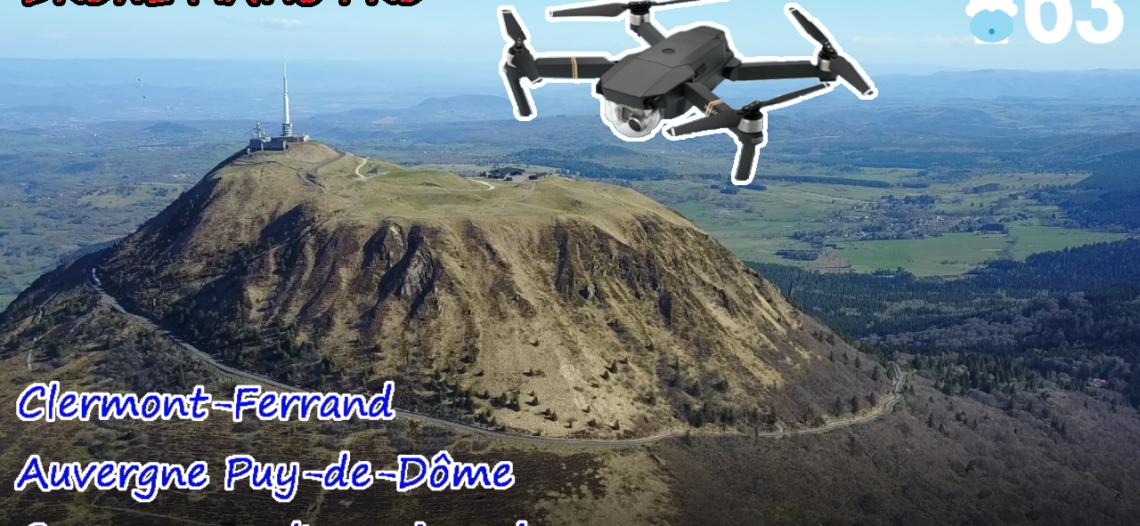 Notre Veille : [DRONE] Clermont-Ferrand comme vous l'avez jamais vu – DJI MAVIC PRO