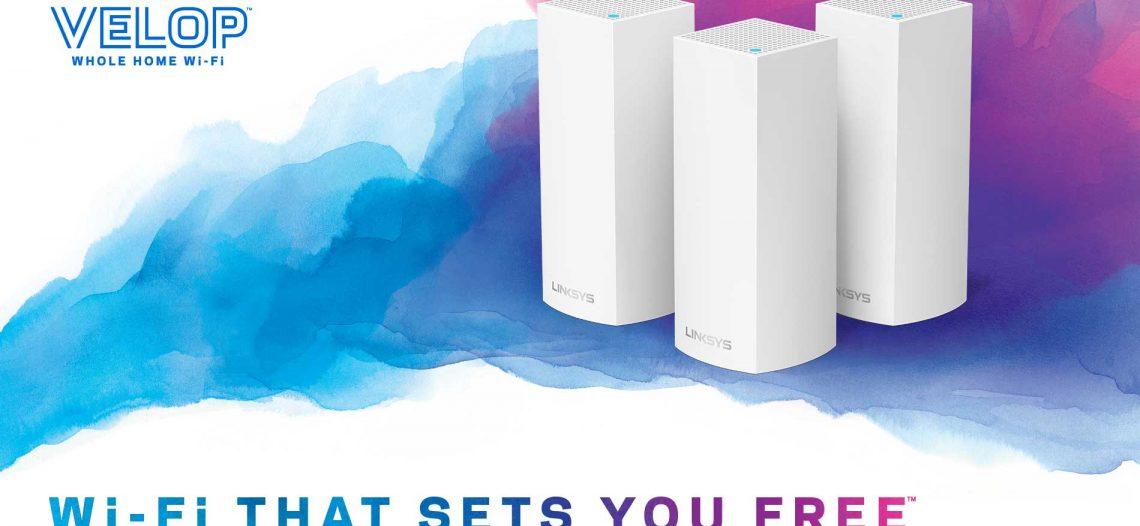 Notre Veille : Avec Linksys VELOP, le WiFi dans toute la maison
