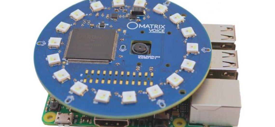 Notre Veille : Matrix Voice transforme votre Raspberry Pi en assistant vocal