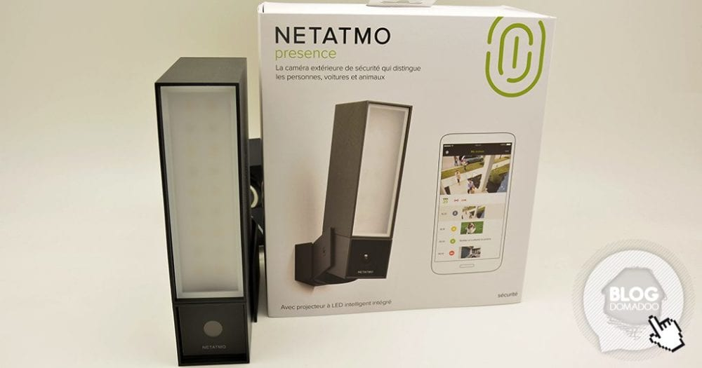 notre veille test de la cam ra ext rieure netatmo. Black Bedroom Furniture Sets. Home Design Ideas