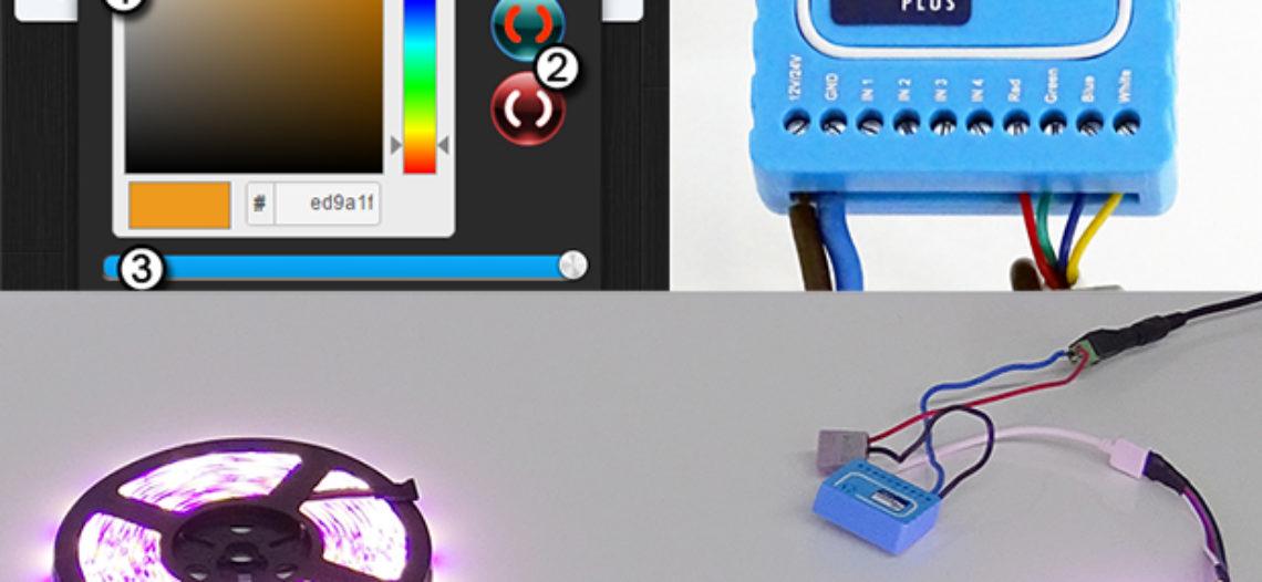 Notre Veille : Le contrôleur RGBW de Qubino ajoute des couleurs à votre domotique