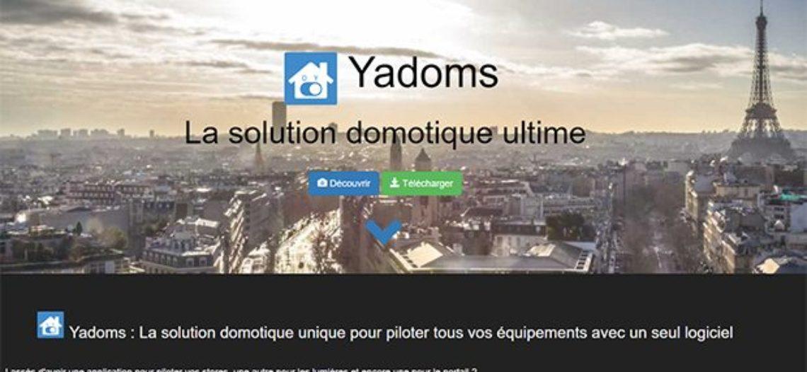 """Notre Veille : Découverte de Yadoms, la solution domotique open source<span class=""""wtr-time-wrap after-title""""><span class=""""wtr-time-number"""">1</span> min de lecture pour cet article.</span>"""