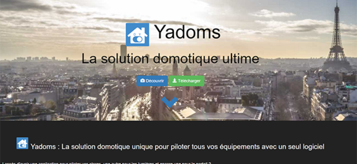 Notre Veille : Découverte de Yadoms, la solution domotique open source