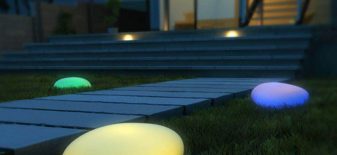 Notre Veille : Lampes Solaires d'extérieur Kealive Galet et Sphère- Déballage Test Avis