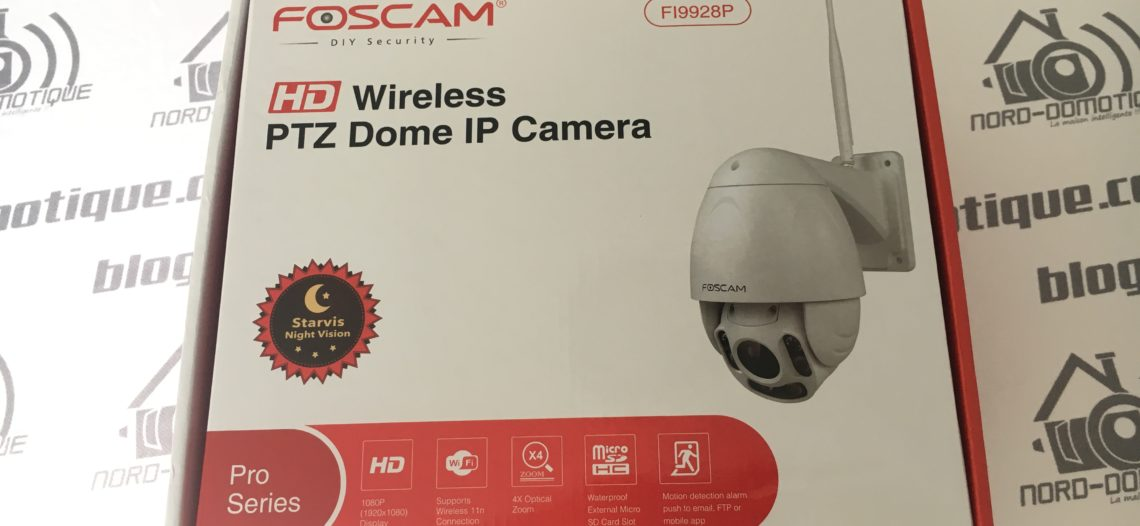 Test de la cam ra ip exterieur foscam fi9928p for Test camera ip exterieur
