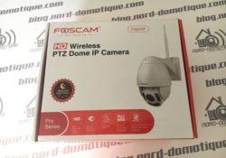 Test de la caméra IP Exterieur Foscam FI9928P