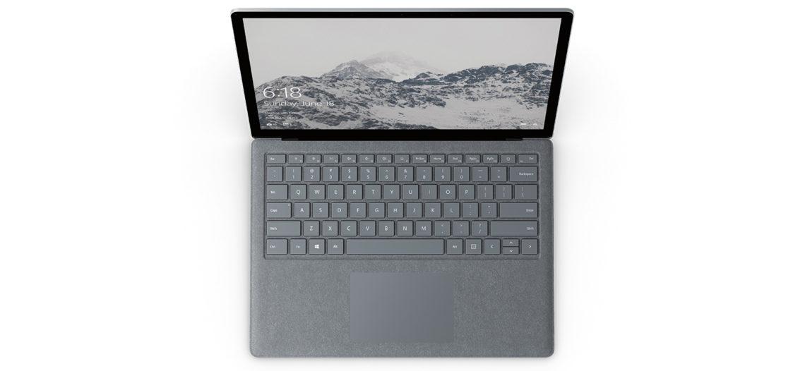 """Notre Veille : Le Surface Laptop de Microsoft disponible en précommande à partir de 1 149€<span class=""""wtr-time-wrap after-title""""><span class=""""wtr-time-number"""">1</span> min de lecture pour cet article.</span>"""