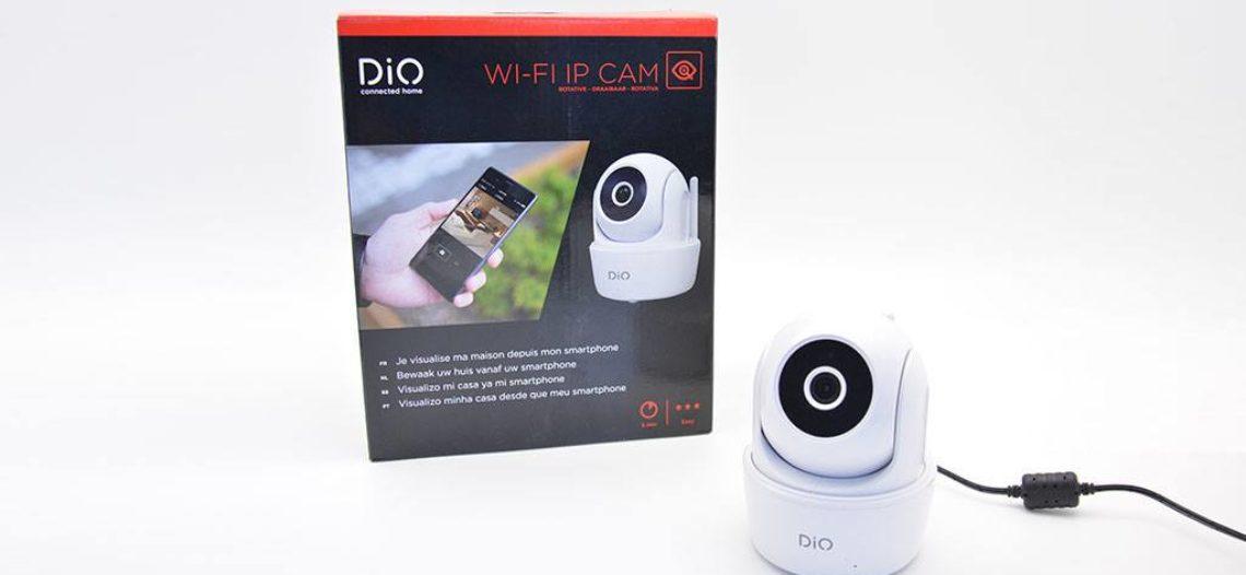 Notre Veille : Test de la caméra intérieure rotative DIO (CHACON)