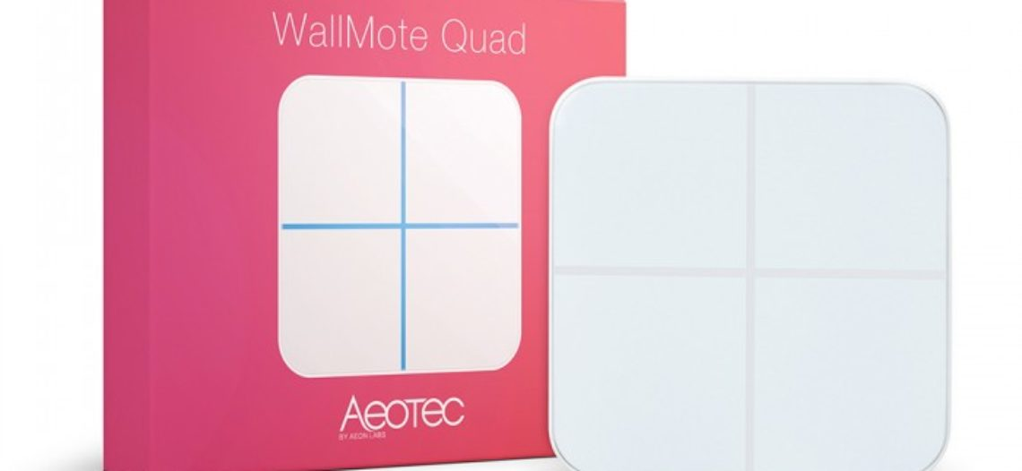 Notre Veille : WallMote Aeotec – Test Avis Domotique Jeedom Eedomus