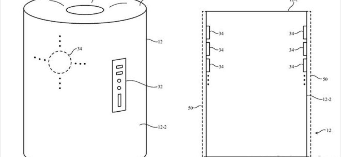 Notre Veille : Ce brevet d'Apple décrit peut-êtrel'enceinte connectée alimentée par Siri