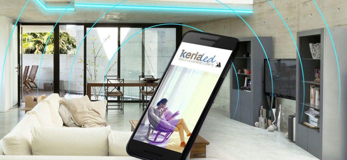 Notre Veille : KeriaLed: Les luminaires connectés arrivent également chez Keria
