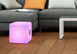 Notre Veille : Test: Enceinte Bluetooth BigBen Interactive ColorCube, pour écouter la musique en terrasse
