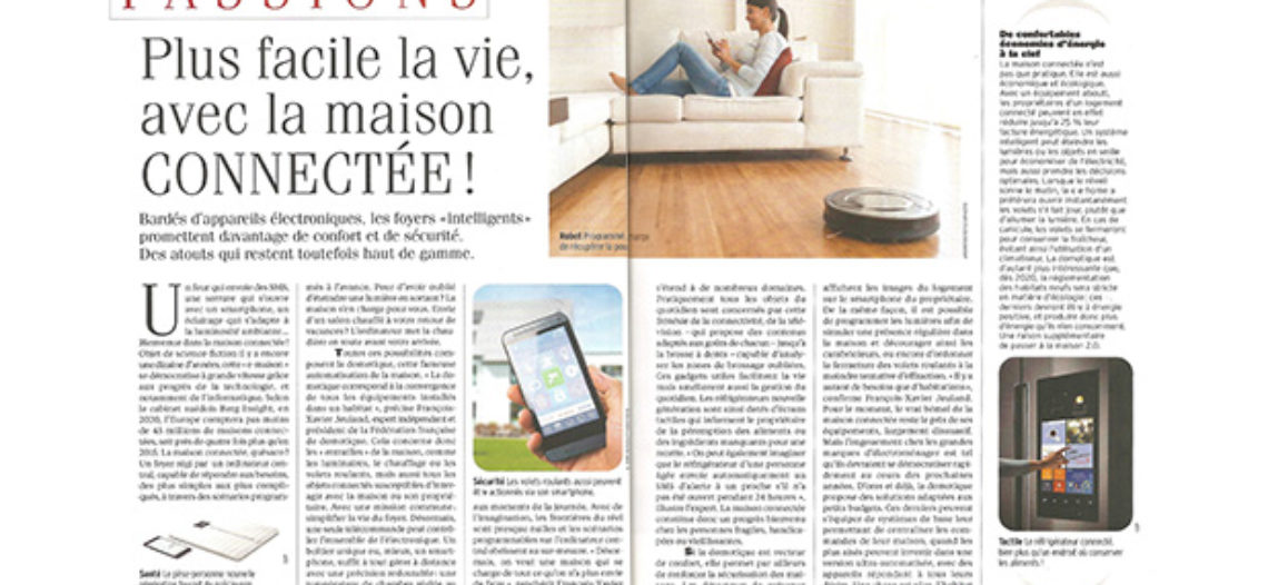 Notre Veille : Article de l'Express sur la maison connectée