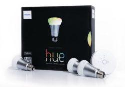 [Bon Plan Philips HUE Philips Kit de démarrage 3 ampoules Hue White and Color E27 + pont de connexion Hue 1ère génération