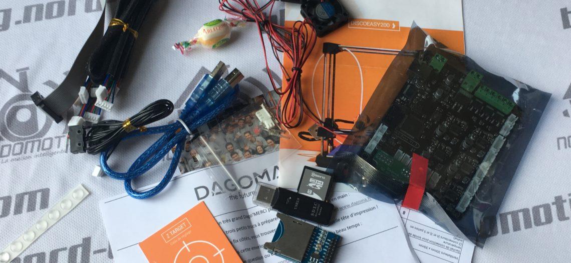 Upgrade de mon imprimante Dagoma DiscoVery200 en DiscoEasy200