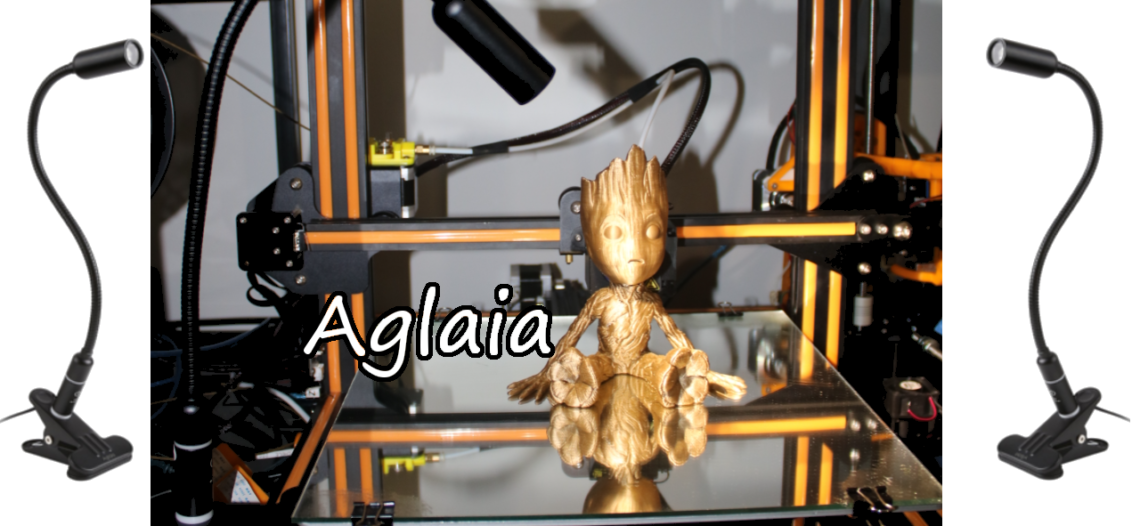 Notre Veille : Clip LED Desk Lamp idéale imprimante 3D – Déballage Test Avis