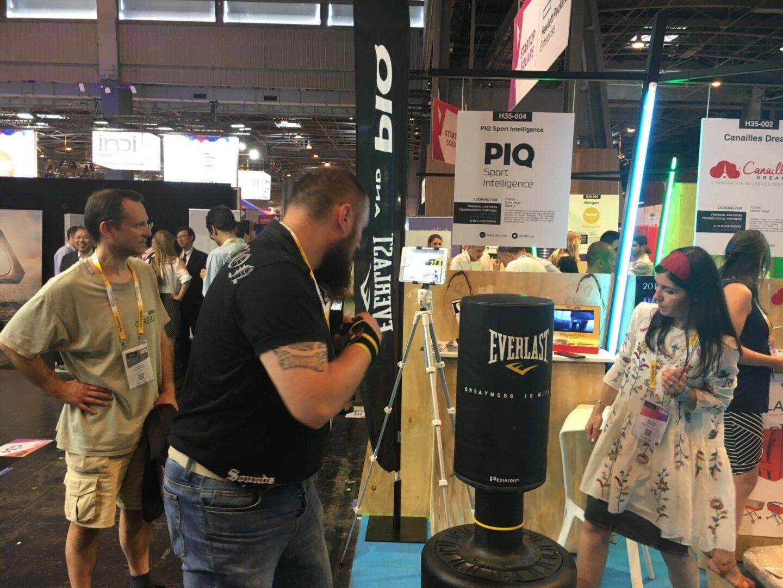 Vivatechnology2017_8962 Test du PIQ Robot Blue - Boxing Sensor System par PIQ et Everlast