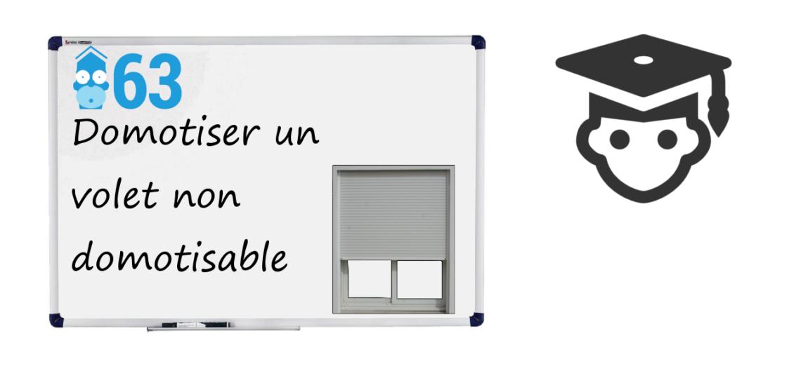 Notre Veille : Domotiser des volets non domotisables – C'est possible !
