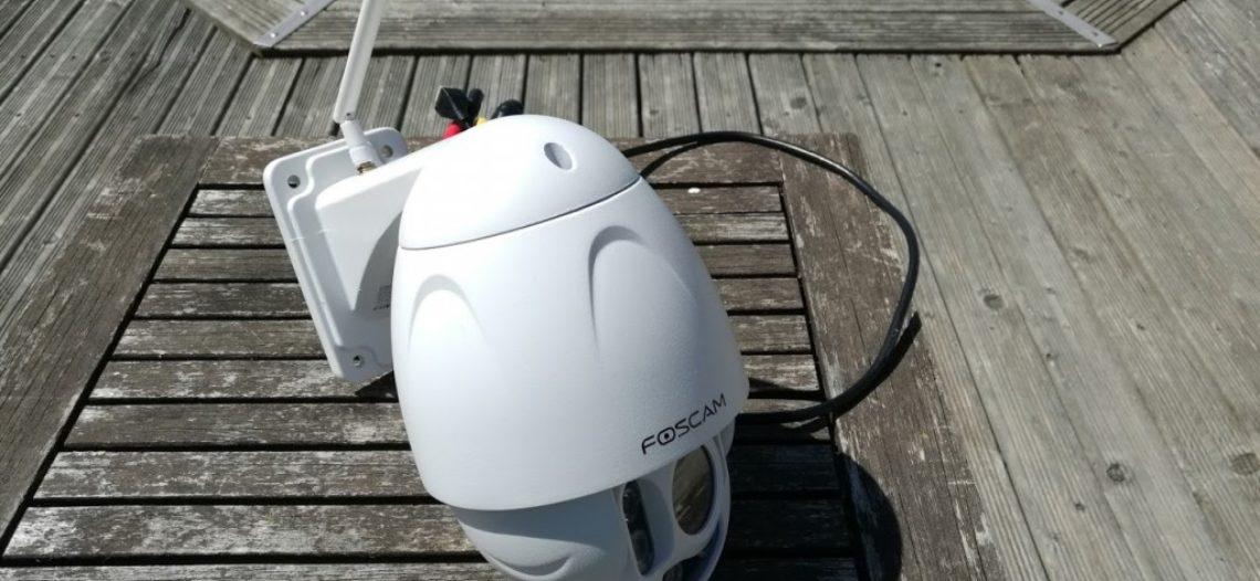 Notre Veille : Test Caméra IP Motorisée Extérieure : Foscam FI9928P