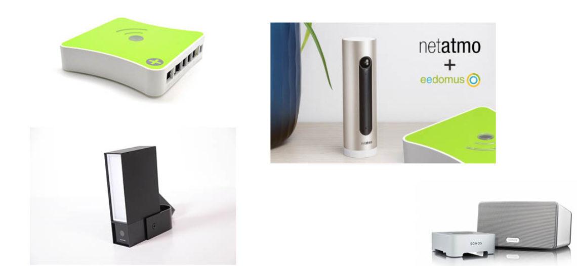 Mise à jour Eedomus du mois de Juin, Sonos et Caméras Netatmo compatibles!
